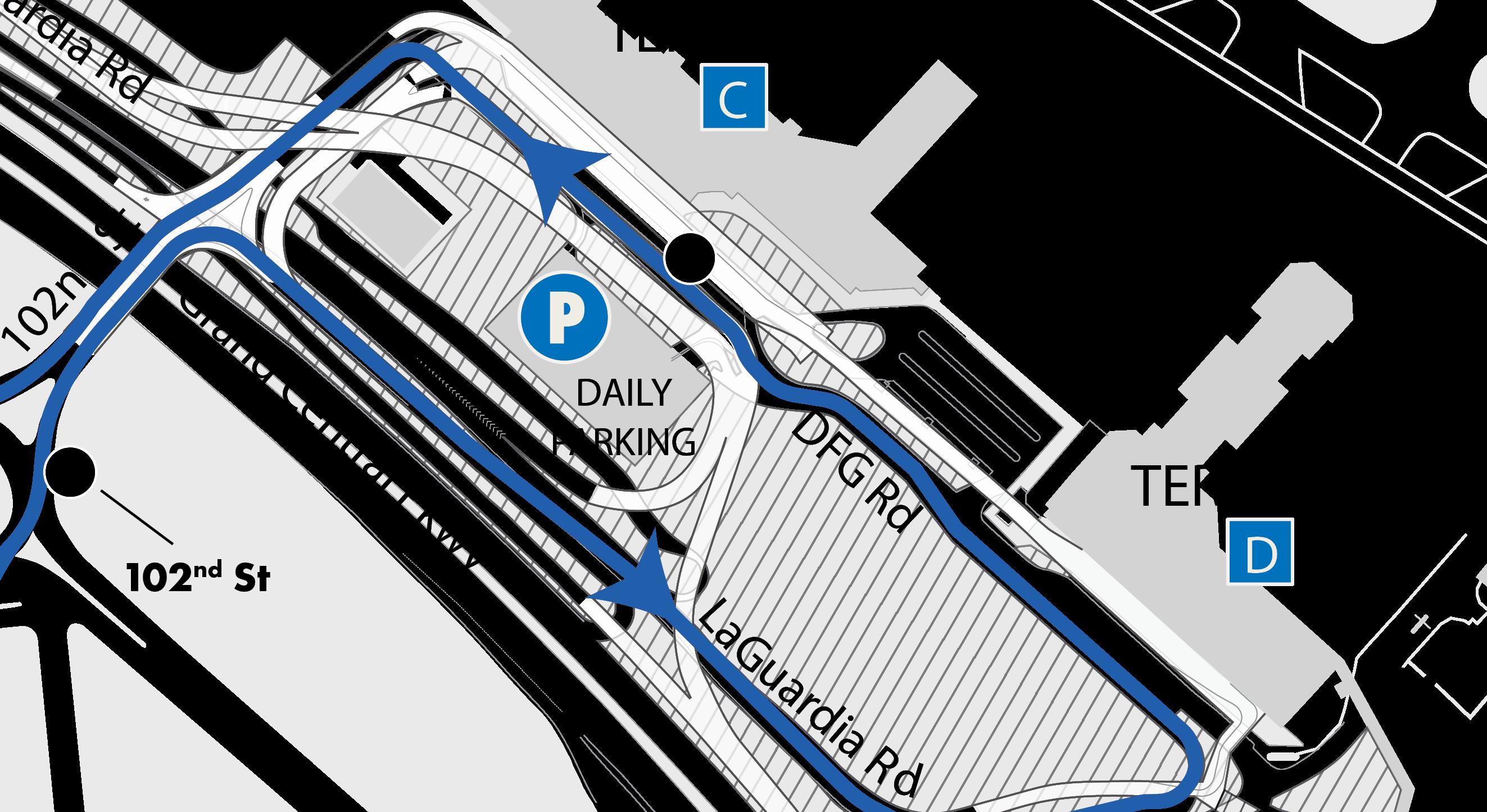 Rental Car Shuttle Relocation Lga Laguardia Airport