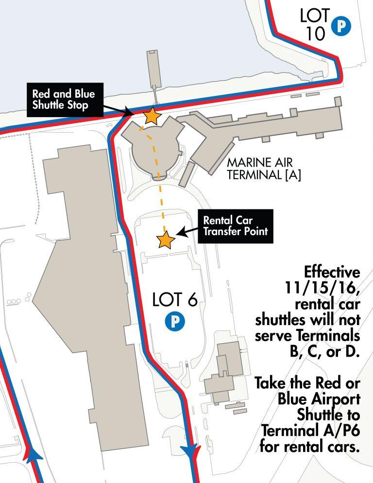 Rental Car Shuttle Relocation - LGA - LaGuardia Airport